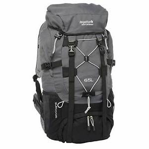 Regatta Survivor 65L Backpack SEAL Grey