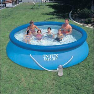12' Intex Pool and Pump