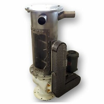 Used 10x12 Semco Rotary Airlock Valve With Dual Shaft Agitated Lump Breaker
