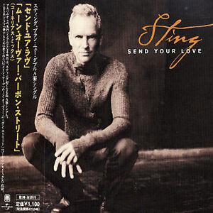 Send-Your-Love-Japan-CD-Single-by-Sting-CD-Aug-2003-Universal-OBI-STRIP