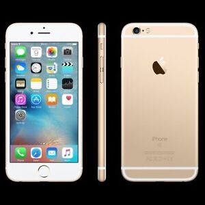 10/10 Condition IPhone 6s for sale Bell/Virgin 128gb