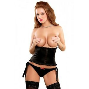 Underbust Corset with Matching Panty in L/XL