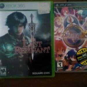 Video Games for sale. Make an offer!
