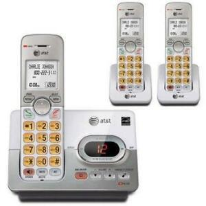 AT&T EL52303 3-Handset Cordless Answering System with Caller ID