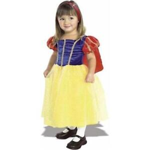NEW:Rubie's Child's Snow White Costume (Size: Small-Fits 3-4yrs)