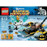 LEGO Arctic Batman Vs Mr. Freeze: Aquaman - RETIRED and NIB