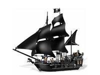 Black Pearl Pirates of the Caribbean Construction set 4184 100% Lego compatible