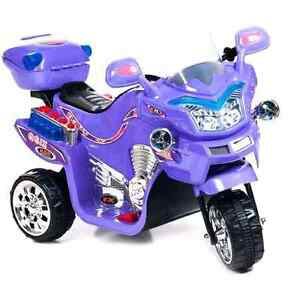 Lil' Rider FX 3-Wheel Battery-Powered Bike, Purple