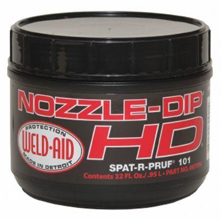 Weld Aid 007094 Heavy Duty Nozzle Dip Gel 32 Oz./.95L