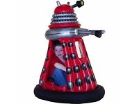 RED INFLATABLE RIDE ON DALEK