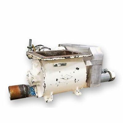 Used 10 Semco Blow Thru Rotary Airlock Valve Cv-04 B