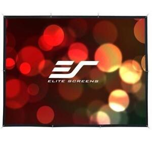 "NEW Elite Screens 171"" Outdoor Wall Mounted Rear Projection Screen, 16:9 Aspect Ratio, 83.5x148.3"""