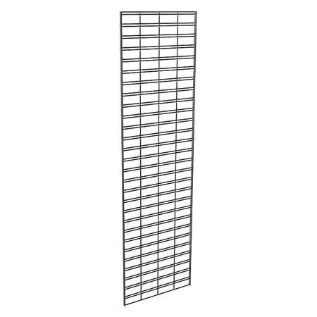 ECONOCO P3STG27B Wire Slatgrid Panel 2ft. x 7ft., Black, 3PK