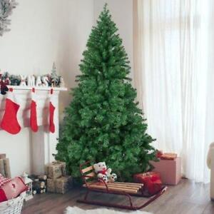 $65 Bacana Christmas Tree 6.5 ft (2.1 meter ) xmas tree natural realistic looking pine tips with Solid Metal Legs