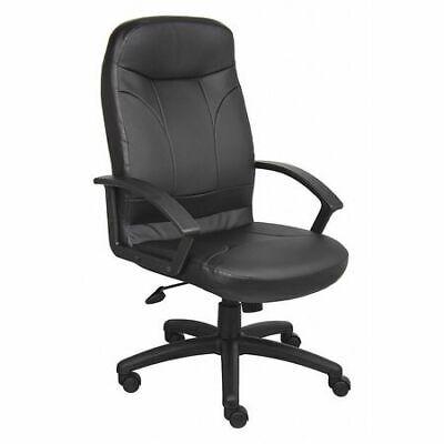 Zoro Select 452r32 Executive Chairheavy Dutyleather Seat