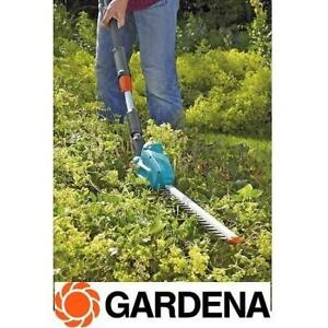 NEW TELESCOPIC HEDGE TRIMMER 8881-20 189944364 GARDENA BATTERY POWERED