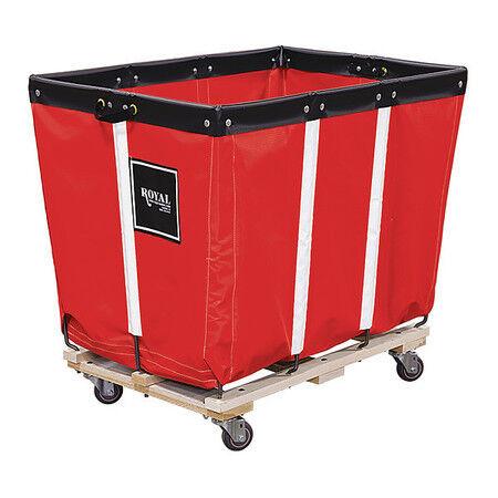 ROYAL BASKET TRUCK G06-RRW-PMA-3UNN Basket Truck,6 Bu. Cap.,Red,30 In. L
