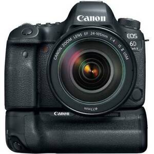 Canon 6D, 24-105mm IS f4 L, 50mm 1.8 STM, Canon Grip, & MORE!