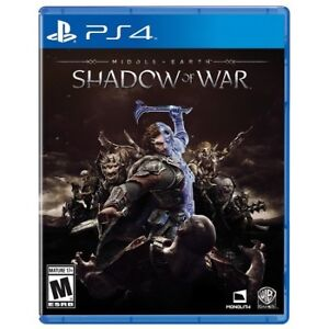 Middle Earth : Shadow of war PS4