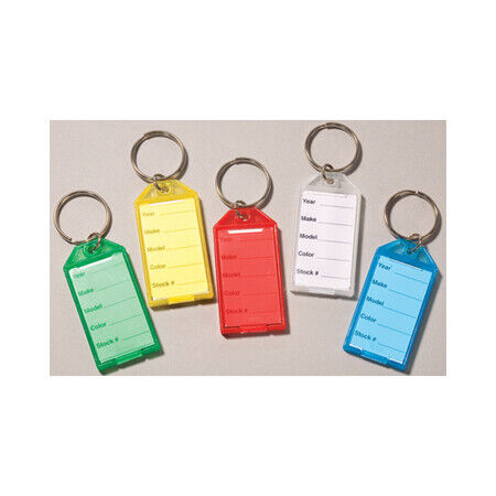 EZ LINE 391-Red Snap Key Tags: Red Pk
