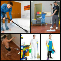 Cleaning guy / Homme de menage