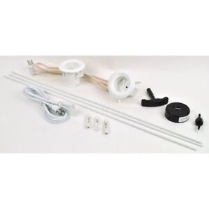 Legrand Wiremold TV in wall cord & cable power kit