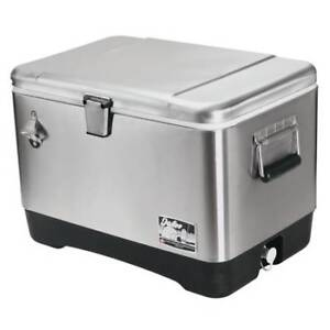 Igloo Cooler Legacy Stainless Steel 54qt
