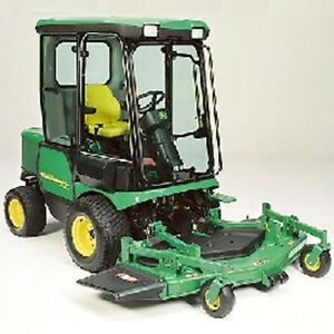 Hard Cab for JD 1400 and 1500 series Front Mowers