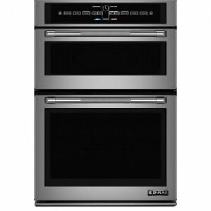 "JENN-AIR 30"" STAINLESS STEEL COMBINATION MICROWAVE ELECTRIC WALL"