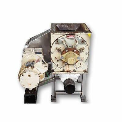 Used 10 Butler Mfg Rotary Valve Airlock Mdffs111