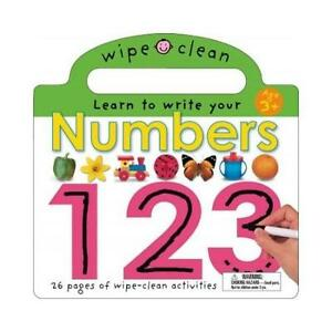 ✪ WIPE CLEAN - Learn to Write Your Numbers