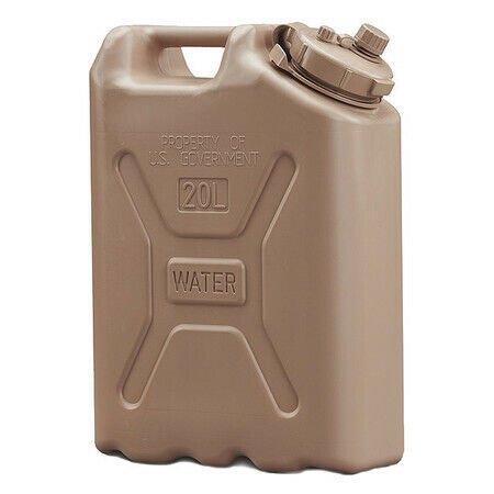 Scepter 06181 Military Water Canister, 5-Gal, Sand