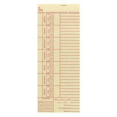 Amano Ama5200-2 Bi-weekly Time Cards