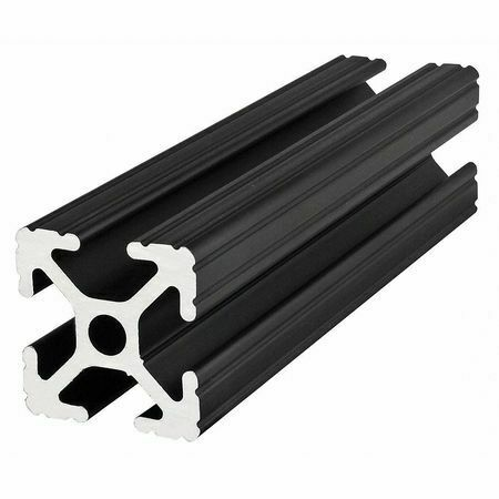 80/20 1010-Black-72 Framing Extrusion,T-Slotted,10 Series