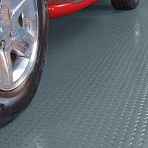 Garage Floor Mat Protects against ice, snow, mud, salt, etc