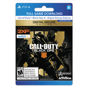 WANTED - Digital download Black Ops 4