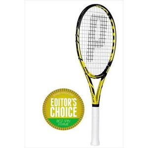 PRINCE TOUR 98 ESP TENNIS RACQUET , GRIP 4 3/8 , STRUNG , NEW