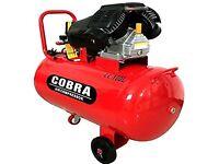 Brand new 100 litre V-Twin Pump Air Compressor 3hp