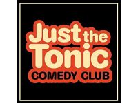 Just The Tonic's Saturday night comedy on January 14, 2017