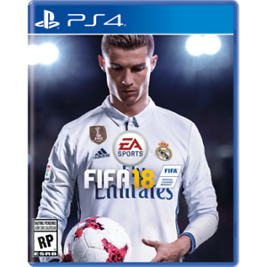 Fifa 18 for PS4 mint condition