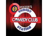 The Comedy Station Comedy Club on 8th October 2016