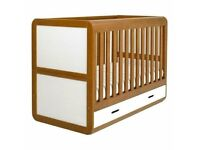 East Coast High Sided Cot Bed and Drawer set.