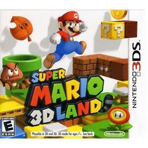 SUPER MARIO 3D LAND FOR 3DS