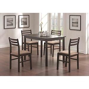 5-Piece Dining Table with Chairs Set brand new