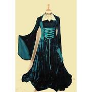 Velvet Medieval Dress