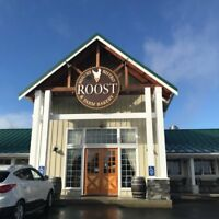 Line Cook wanted at The Roost Farm Centre Bistro