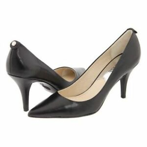 MICHAEL KORS MK FLEX MID PUMP HIGH HEELS BLACK