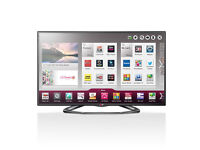 lg 50la620 led 3d smart with wifi build in . new condition .