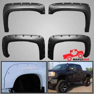 Reg/Long Box 2007-2013 Sierra 1500 Fender Flares