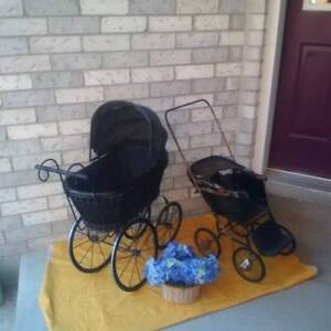 Antique DOLL Stroller + Doll Carriage + WHEEL*** SEE EACH PRICE
